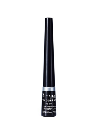 Rimmel London Exaggerate Eye Liner 001 100% Black-Rimmel London